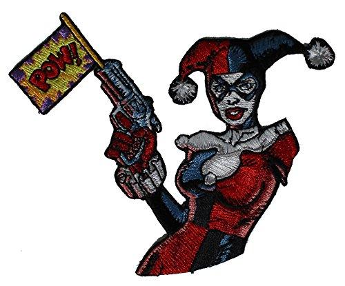 Application DC Comics Batman Harley Quinn Pow Patch