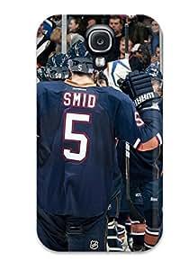Ryan Knowlton Johnson's Shop Best 1756836K890991796 edmonton oilers (33) NHL Sports & Colleges fashionable Samsung Galaxy S4 cases