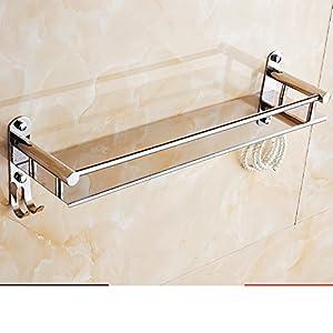 Stainless steel bathroom shelf /the shelf in the bathroom/Bathroom wall-E good