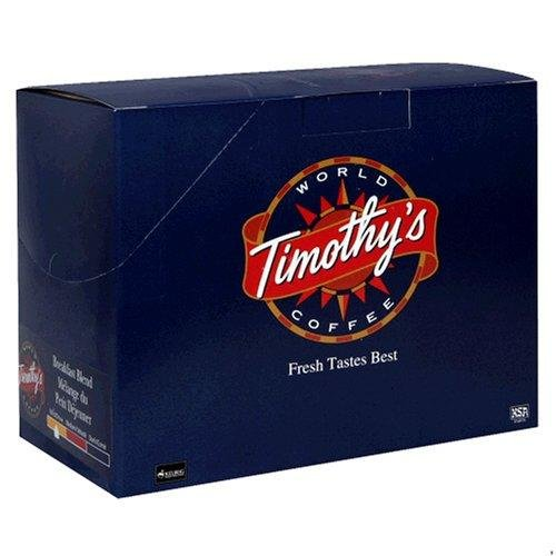 Timothy's World Coffee Breakfast Blend 96 (Timothys Breakfast Blend Coffee)