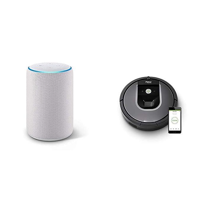 Echo Plus gris claro + iRobot Roomba 960 - Robot Aspirador Óptimo ...
