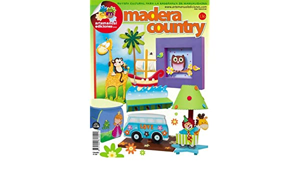 Amazon.com : Revista Manualidades Crea Tu Propio Proyecto 136 -MADERA COUNTRY- : Other Products : Everything Else