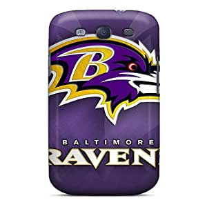 New Style MKAce Hard Case Cover For Galaxy S3- Baltimore Ravens