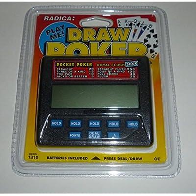 Pocket Poker: Royal Flush 3000 (Radica Model #1310): Toys & Games