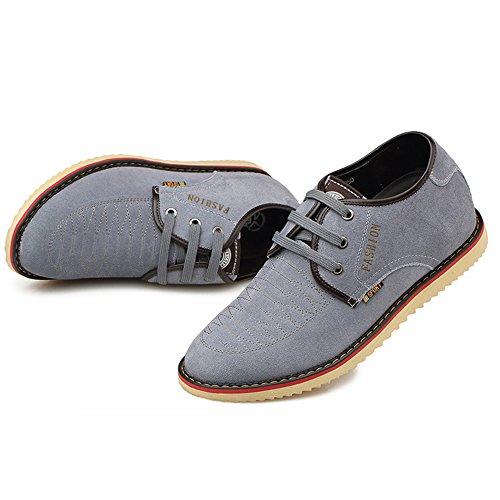 脚従者基礎理論MERLIN 7cmUP 身長アップ紐靴 シークレットシューズ レースアップ ファッション