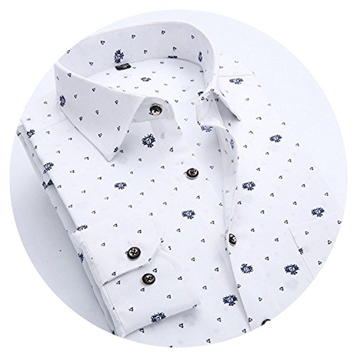 Full Button Adult Style Pro (Summer-lavender-men shirt Men Shirt Business Floral Cotton Long Sleeve Casual Tops Tees Male Shirts N766,CY082,China XL 65kgto73kg)