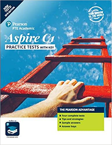 Buy PTE Academic Aspire C1 Book Online at Low Prices in India | PTE