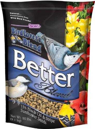 Browns Bird Lovers Blend - F.M. Brown's Bird Lovers Blend,20-Pound, Better Blend