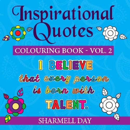 Download Inspirational Quotes: Colouring Book (Volume 2) pdf epub