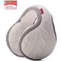 TopRush Foldable Ear Warmers/Ear Muffs - High-Class Windproof Fleece Winter Earmuffs Men Women & Kids