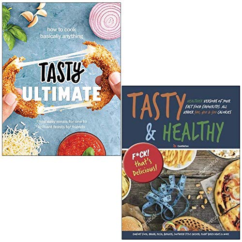 Tasty Ultimate Cookbook [Hardcover], Tasty & Healthy F Ck That's Delicious 2 Books Collection Set