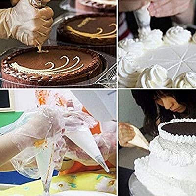 Reusable Disposable Icing Nozzle Fondant Cake Decorating Pastry Cream Pastry Bag