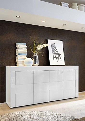 Muebles Lacados Blanco Para Salon.Mueble De Comedor Lacado En Blanco Muebles Fabricados En