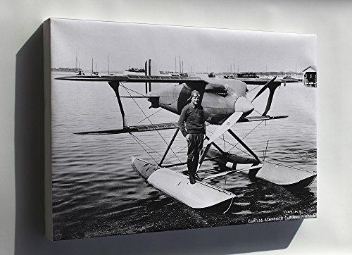 Canvas 16x24; James Jimmie H. Doolittle Curtiss R3C-2 Racer Langley 1928