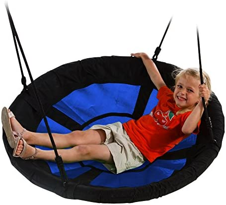 Swing-N-Slide WS 4861 Nest Swing with 40 Diameter, Blue