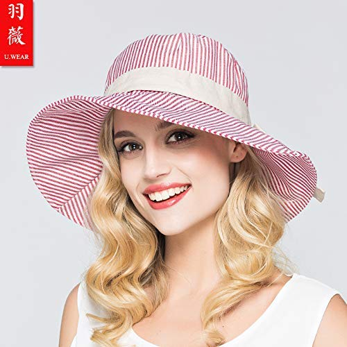 F BRNEBN Spring and summer cool hatpredection sunscreen ladies color sunshade hat sun hat cap adjustable