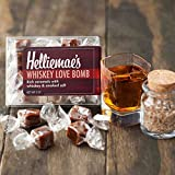 Helliemae's Salted Caramels, Whiskey Love Bomb, 2oz Box