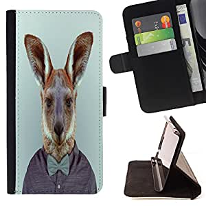 - Funny Kidding Pattern Art Cartoon Cute - - Style PU Leather Case Wallet Flip Stand Flap Closure Cover FOR Samsung Galaxy S5 V SM-G900 - Devil Case -