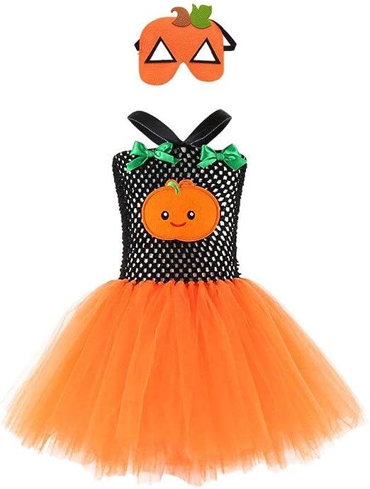 Riou - Disfraz Infantil de Calabaza para Halloween, Carnaval ...