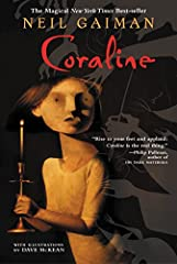 The day after they moved in, Coraline went exploring.... In Coraline's family's new flat are twenty-one windows and fourteen doors. Thirteen of the doors open and close.The fourteenth is locked, and on the other side is only a brick wall, unt...