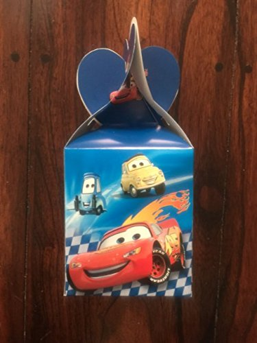 CARS LIGHTNING McQUEEN TREAT CANDY LOOT BAG PARTY FAVOR BOXE