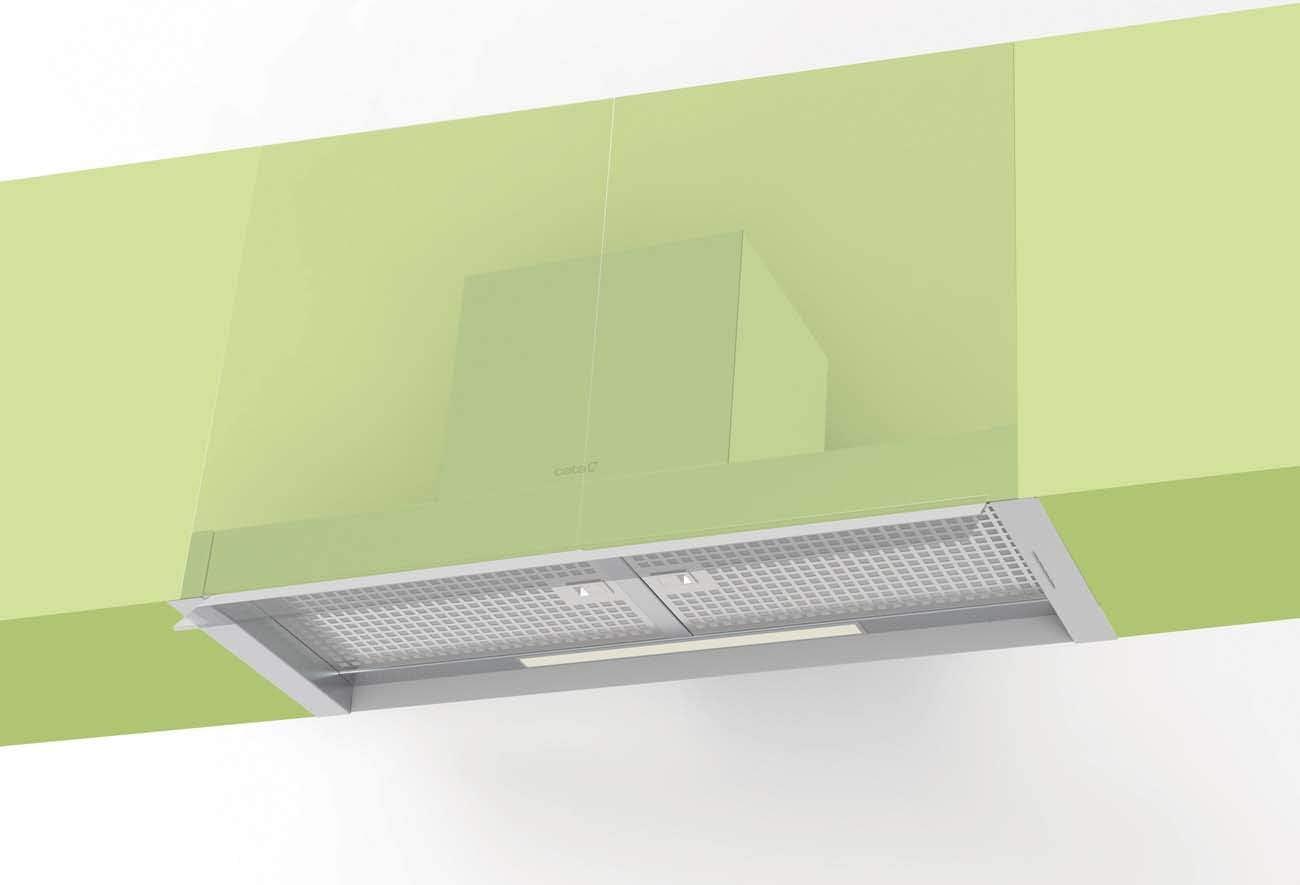 CATA CORONA X 70 850 m³/h Encastrada Acero inoxidable A - Campana (850 m³/h, Canalizado/Recirculación, A, A, B, 65 dB): Amazon.es: Grandes electrodomésticos