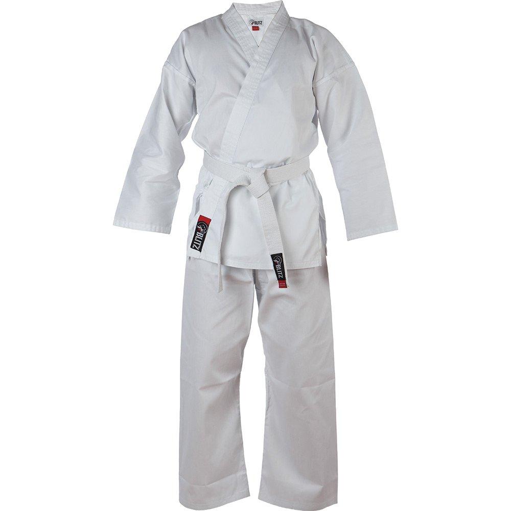 Blitz Adultos Ligero Karate Gi Blanco Kimono de Karate Sport ...