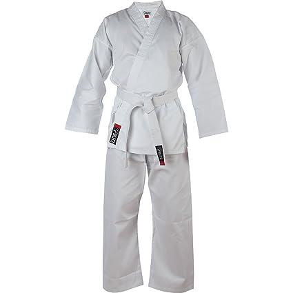 Blitz Traje de Karate para niños, Ligero, Color Blanco ...