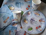 Paper plates for Passover, Paper Seder