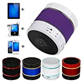 MChoice LED Bluetooth Wireless Speaker Portable and Rechargeable TF Card For iPhone