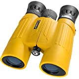 Barska AB11092 10x30 WP Floatmaster Binoculors (Blue Lens, Yellow)