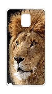 Karipa:Lion case,Kingcase for Samsung Galaxy Note 4.