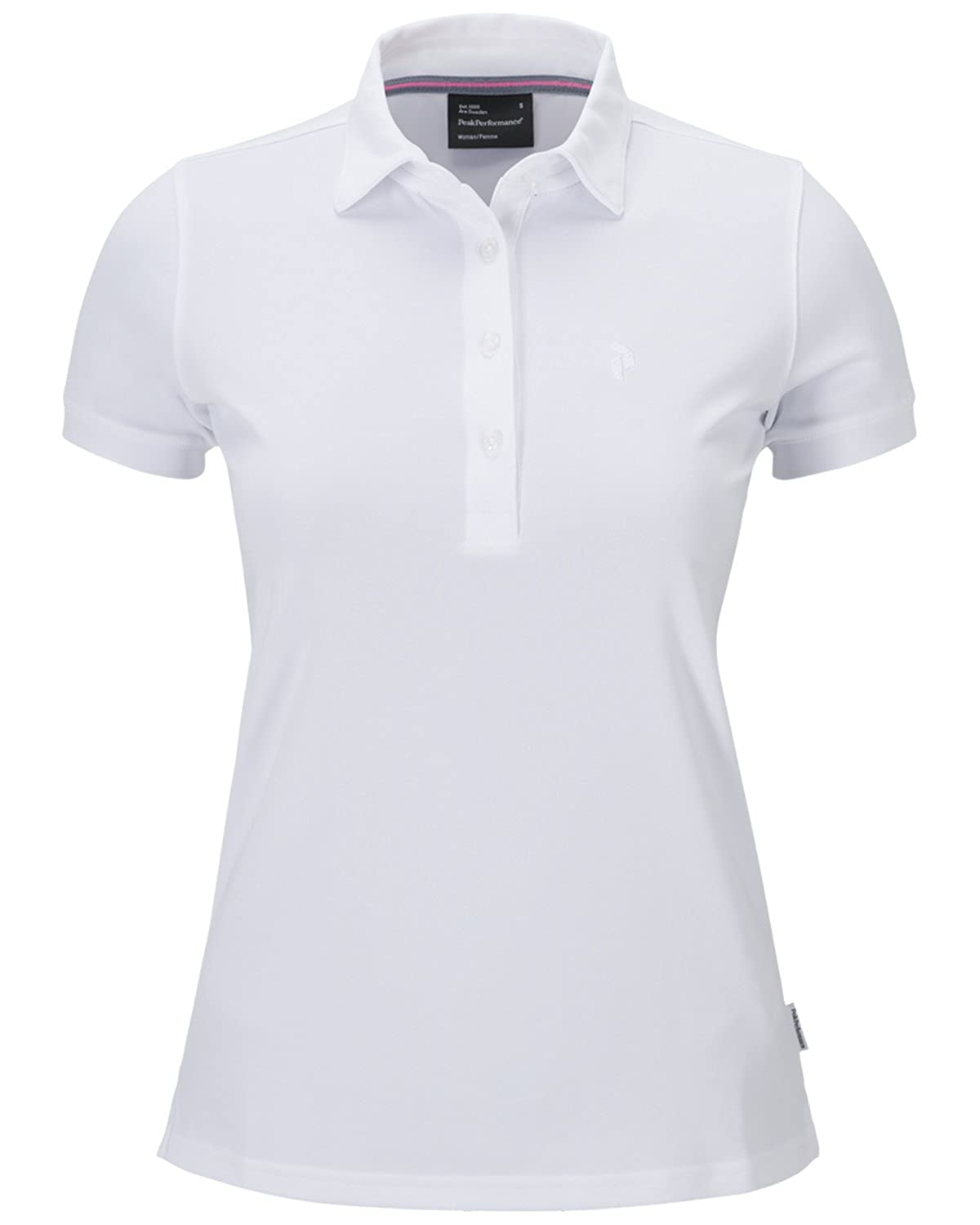 Peak Performance W Golf elsham Polo White: Amazon.es: Ropa y ...