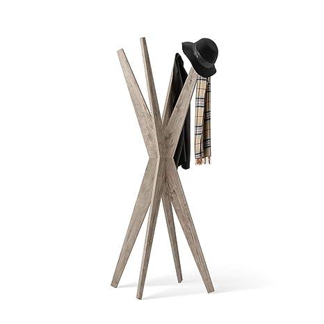 Mobili Fiver, Appendiabiti da terra di Design, Emma Quercia, 80 x 80 ...