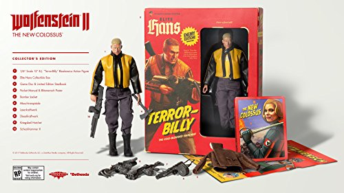 Wolfenstein 2: The New Colossus Collectors - PlayStation 4