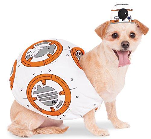 [Rubies Costume 580417_M Star Wars VII: The Force Awakens BB-8 Pet Costume, Medium] (Bb 8 Dog Costume)