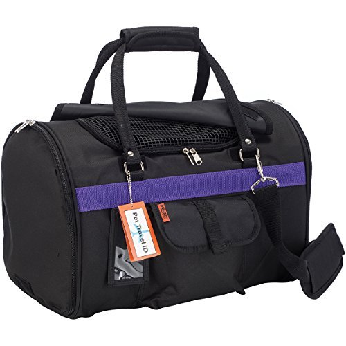 Rollup Carrier Pet (Prefer Pets Travel Gear 312BP Hideaway Duffle Pet Carrier, Medium)