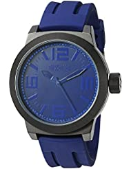Kenneth Cole REACTION Unisex RK1390 Street Fashion Analog Display Japanese Quartz Black Watch