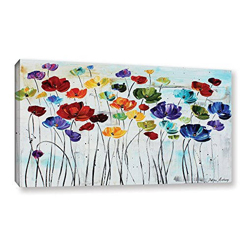 ArtWall Jolina Anthony 'Lilies' Gallery Wrapped Canvas Artwork, 36 by 48-Inch (Canvas Discount Art)