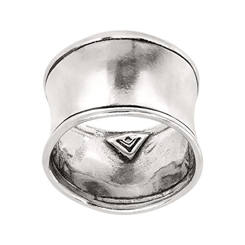 Silpada 'Hammered Cuff' Sterling Silver Ring (Silver Cuff Hammered)
