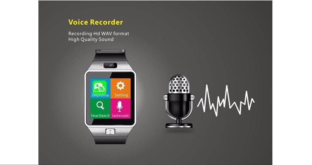 YinoSino DZ09 Smart Watch (Disponible en Español) / Reloj inteligente DZ09 / Reloj Bluetooth / Reloj Android / Reloj para la salud con pantalla táctil ...