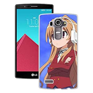 Popular And Unique Designed Cover Case For LG G4 With Anime Girls Music Headphones Delight Sky white Phone Case BY icecream design
