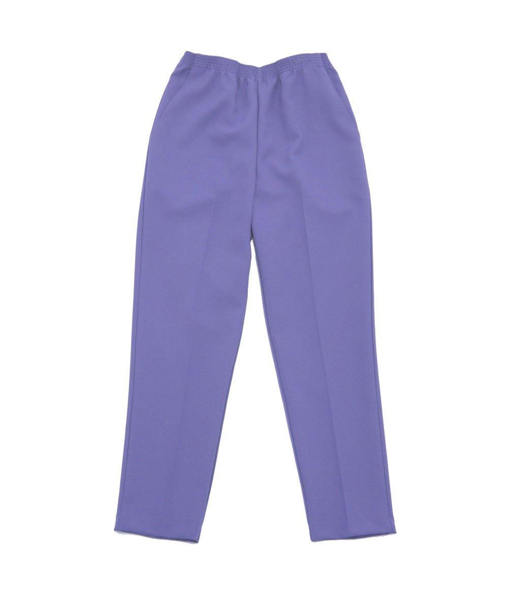 Silverts Disabled Elderly Needs Womens Elastic Waist Two Pocket Petite Pants Silvert' s 13100