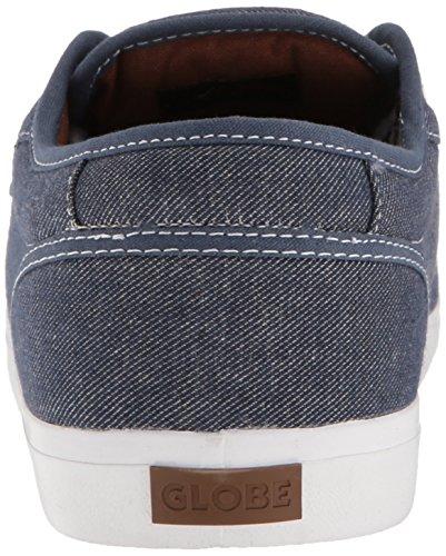 Globe Motley GBMOTLEY - Zapatillas de cuero unisex Azul oscuro/Blanco