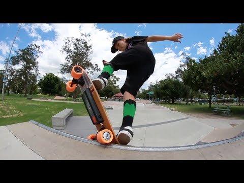 Mini Fiik Electric Skateboard  Buy Online in UAE.  Sporting Goods Products in the UAE  See