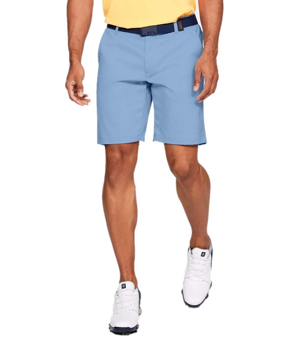 Under Armour Golf Men's UA Showdown Golf Shorts Boho Blue/Boho Blue 36 9.5 by Under Armour