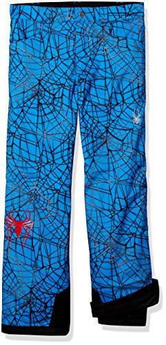 (Spyder Boy's Marvel Hero Ski Pant, French Blue/Spiderman, Size 10)
