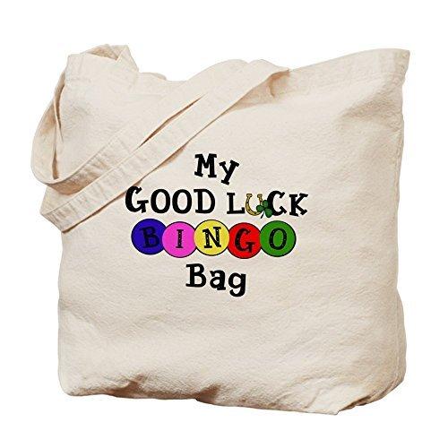 Lucky Bingo Cute Eco-Friendly Reusable Canvas Tote Bag for School 15 x 18 Inch