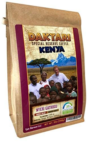Daktari Kenya Gathugu 12oz Whole Bean - Coffee Lover's Diet