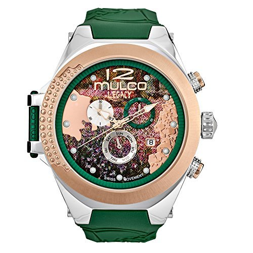 Mulco Legacy MW5-3700-473 Impressionism Collection Green Band